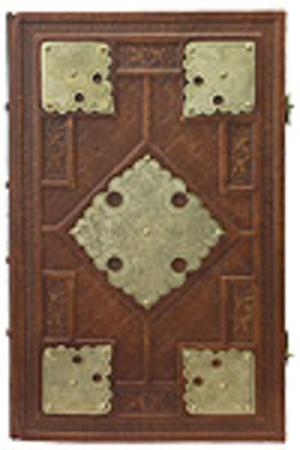 Orthodox service Gospel book in jewelry cover no.71-1
