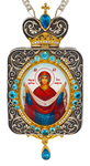 Bishop panagia - A1381 Protection of the Mother of God