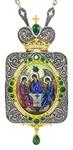 Bishop panagia - A1381 Theotokos Eleusa