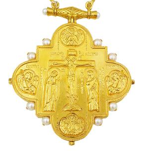 Bishop panagia-reliquary - A1318