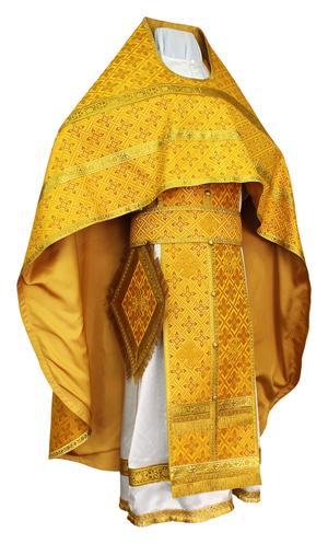 "Russian priest vestments  41""/5'11"" (52/180) #626"