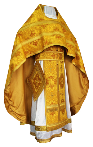 "Russian priest vestments  38""/5'9"" (48/176) #627"