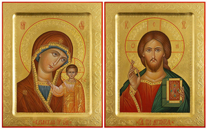 Wedding icon pair - H2