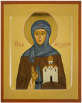 Icon: Holy Martyr Angelina of Serbia - PS1 (5.1''x6.3'' (13x16 cm))