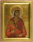 Icon: Holy Martyr Great Princess Tatiana - PS1 (5.1''x6.3'' (13x16 cm))