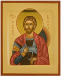 Icon: Holy Martyr St. John the Warrior - PS1 (5.1''x6.3'' (13x16 cm))