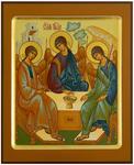 Icon: Holy Trinity - PS3 (6.7''x8.3'' (17x21 cm))