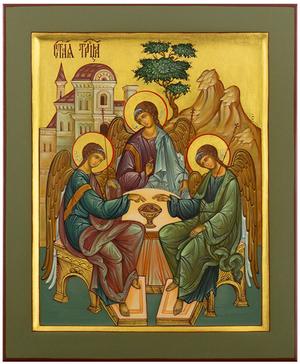 Icon: Holy Trinity - PS4 (7.5''x9.1'' (19x23 cm))