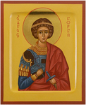 Icon: Holy Great Martyr St. George the Winner - PS3 (5.1''x6.3'' (13x16 cm))