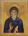 Icon: Holy Venerable Abba Dorotheus - PD50 (3.5''x4.7'' (9x12 cm))