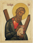 Icon: Holy Apostle Andrew - AA01