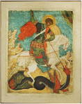 Icon: Holy Great Martyr St. George the Winner - GP03