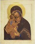 Icon: Most Holy Theotokos of Don - BD11 (3.7''x4.7'' (9.5x12 cm))