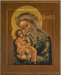 Icon: Holy Righteous Simeon the God-reciever - SB02