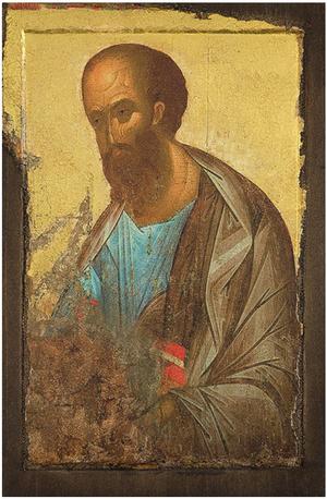 Icon: Holy Apostle Paul - AP14