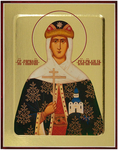 Icon: Holy Great Princess Olga Equal-to-the-Apostles - PS4 (5.1''x6.3'' (13x16 cm))