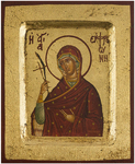 Icon of the Most Holy Theotokos - BOS (4.3''x5.1'' (11x13 cm))
