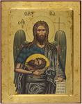 Icon: St. John the Baptist - no.2628 (9.4''x11.8'' (24x30 cm))