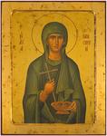 Icon: Holy Hosiomartyr Paraskeva of Rome - B6NB (9.4''x12.2'' (24x31 cm))