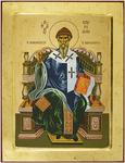 Icon: Holy Hierarch St. Spyridon of Thremethius - X3262 (9.4''x11.8'' (24x30 cm))