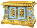 Aksios altar table (gold)