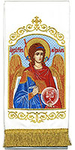 Embroidered bookmark - Archangel Michael