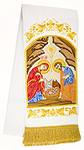 Embroidered bookmark - Nativity of Christ