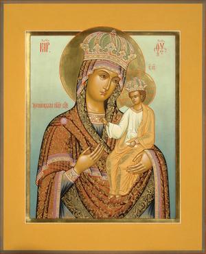 Icon: Most Holy Theotokos of Chernigov - B