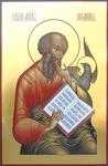 Icon: Holy Apostle and Evangelist St. John - B