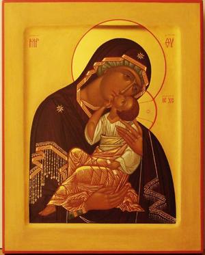 Icon of the Most Holy Theotokos Eleusa - I