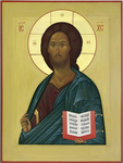 Icon: Christ Pantocrator (of Zvenigorod)- I