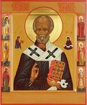 Icon: St. Nicholas the Wonderworker - I2