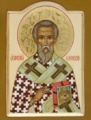 Icon: Holy Hierarch Artemius of Soloun' - I