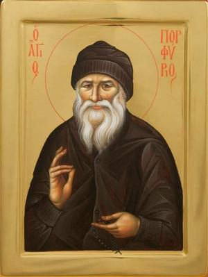 Icon: Holy Venerable Porfyrios Kavsokalivit - I