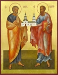 Icon: Holy Apostles Peter and Paul - APP02