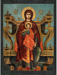 Icon of the Most Holy Theotokos of the Svensk Caves - B32