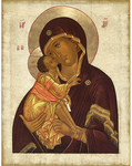 Icon of the Most Holy Theotokos of Don - BD701