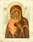Icon of the Most Holy Theotokos of Theodorov - BF01