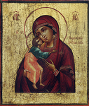 Icon of the Most Holy Theotokos of Theodorov - BF03