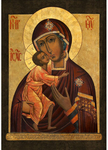 Icon of the Most Holy Theotokos of Theodorov - BF38