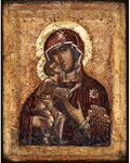 Icon of the Most Holy Theotokos of Theodorov - BF45