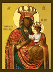 Icon of the Most Holy Theotokos of the Chernigov-Gethsemane the Queen of Heaven - BG01