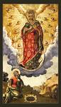 Icon: Appearance the Most Holy Theotokos to St. Apostle Andrew on the Kievan Mountains - BJA01
