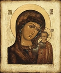 Icon of the Most Holy Theotokos of Kazan' - BK21