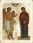 Icon: Annunciation of the Most Holy Theotokos - BLAG01