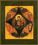 Icon of the Most Holy Theotokos of the Burning Bush - BNK01