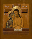 Icon of the Most Holy Theotokos Do Not Mourn Me, Mother - BNRM56