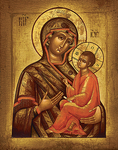 Icon of the Most Holy Theotokos of Tikhvin - BT01