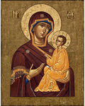 Icon of the Most Holy Theotokos of Tikhvin - BT20
