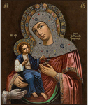 Icon of the Most Holy Theotokos of the Kievan Caves - BT57